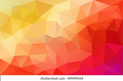 Modern and trendy geometric pattern. Abstract red background for web banner.