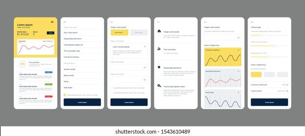 Modern UI, UX website, dashboard, admin user panel design.