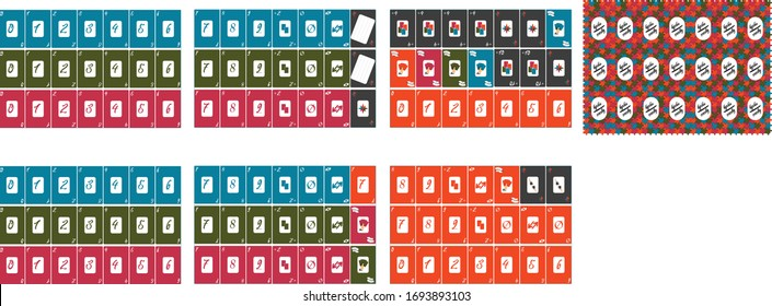 Modern Uno Cards Specific Design