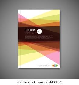 modern vector abstract brochure report flyer stock vector royalty