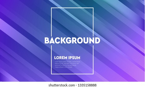 Modern vector background with lines. Abstract halftone gradients. Future geometric template. Minimal digital cover design for your text.