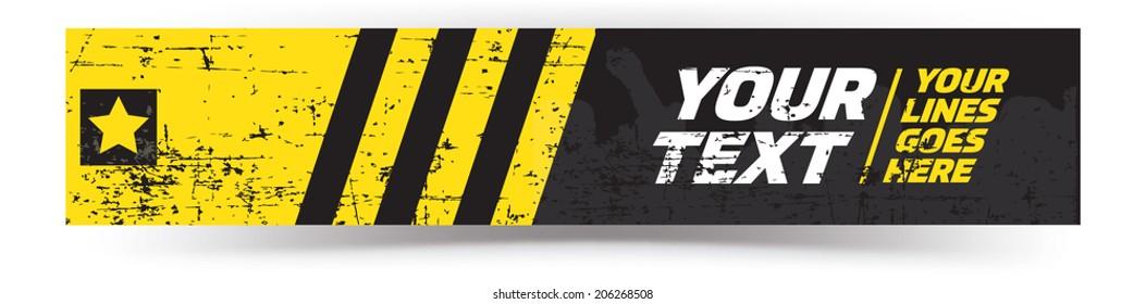 Modern Vector Banner