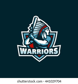 Warrior Logo Hd Stock Images Shutterstock