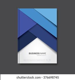 modern vector brochure background, cover for report, corporate / professional book design