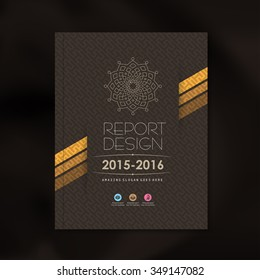 Modern Vector design template with luxury pattern background design for corporate business annual report book cover brochure flyer poster,vector illustration