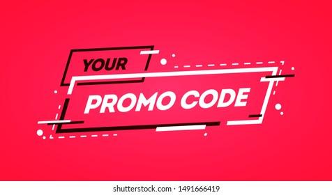 Coupon Code Banner Images Stock Photos Vectors Shutterstock