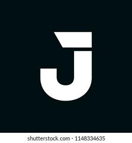 Modern Vector Logo Letter J. J Letter Design Vector