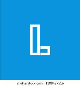 Modern Vector Logo Letter L. L Letter Design Vector