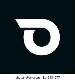 Modern Vector Logo Letter O. O Letter Design Vector
