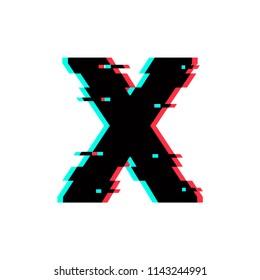 Modern Vector Logo Letter X. X Letter Design Vector