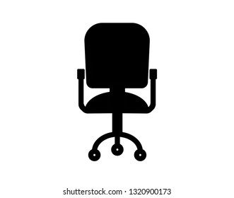 Modern vector office chair graphic - Vector