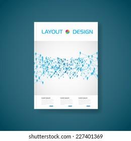 Modern Vector partnership brochure, easy editable
