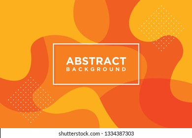 Modern vector templates. Abstract 3D background with orange. Can be used for posters, placards, brochures, banners, web pages, headers, covers and more. EPS 10