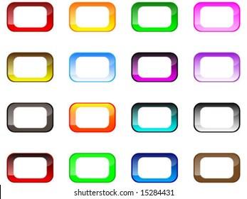 modern web button