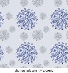 Modern Winter Seamless Pattern