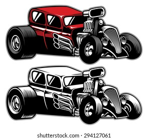 modified classic car