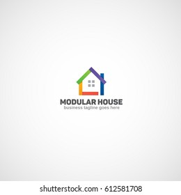 Modular House logo.