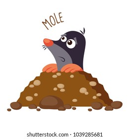 cartoon mole images stock photos vectors shutterstock rh shutterstock com Chemistry Mole Cartoon Cartoon Mole in Hole