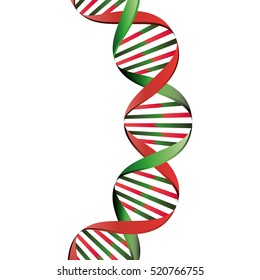 Molecular structure of DNA