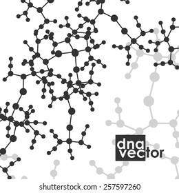 Molecule background art illustration digital composition.