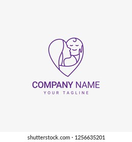 Mom Care Logo can be use for general company