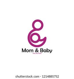 mom and kids logo