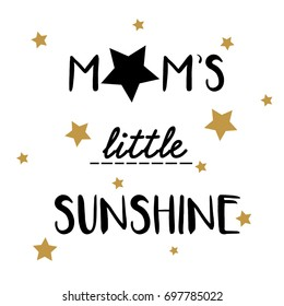 mom slogan illustration vector for kids print