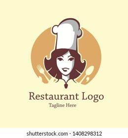 Momy's Chef and Restaurant Vector Logo
