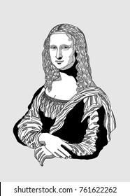 Mona Lisa - Gioconda by Leonardo da Vinci