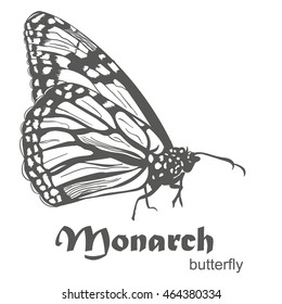 Monarch Butterfly Tattoo Images Stock Photos Vectors Shutterstock