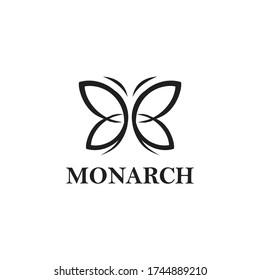 Monarch Logo Vector and Animal Templates