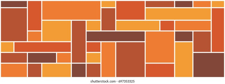 mondrian pattern square design vector for arcitecture,interior,textile,floor,wall, glass screen. (Set 1)