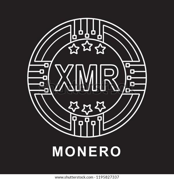 XMR Monero coin