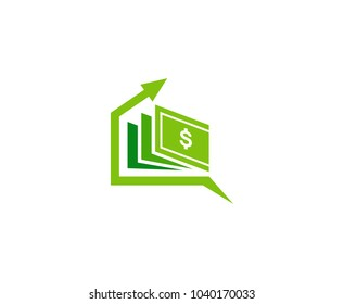 Money arrow  logo
