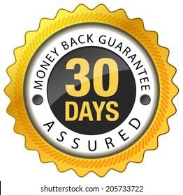 Money Back Guarantee 30 Days - Illustration