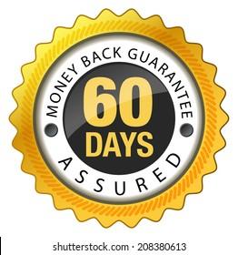 Money Back Guarantee 60 Days - Illustration