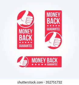 Money Back Guarantee Labels