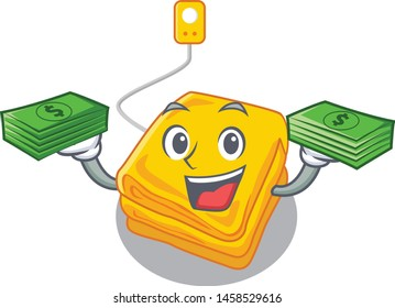 With money bag electric blankets stored in mascot cupboard