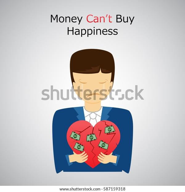 Vector De Stock Libre De Regalías Sobre Money Cant Buy