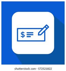money check vector icon invoice symbol のベクター画像素材