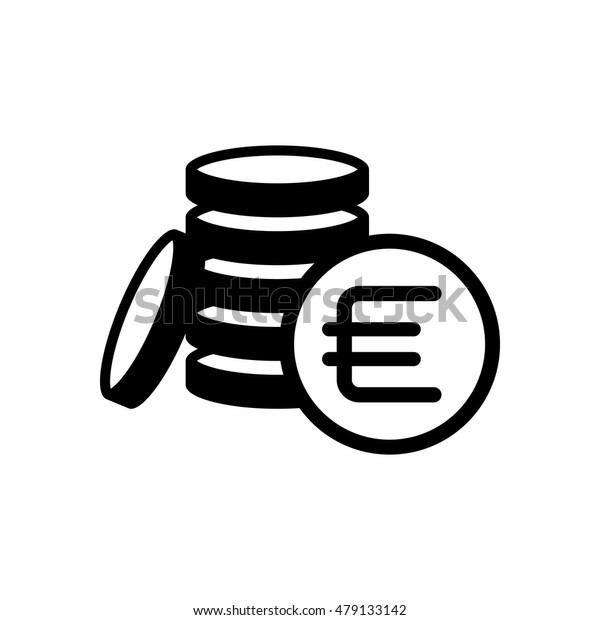 money coins euro icon