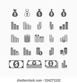 money, coins icon