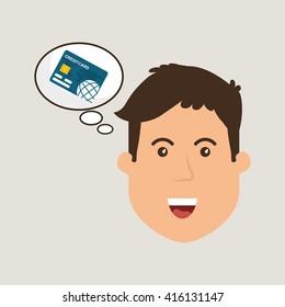 Money design. Business icon. Financial item concept