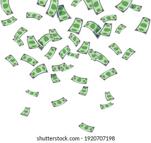 money dollar currency in hand illustrations