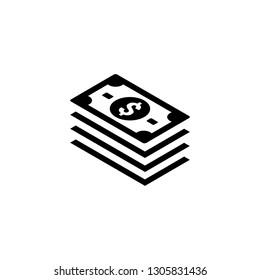 money dollar icon logo