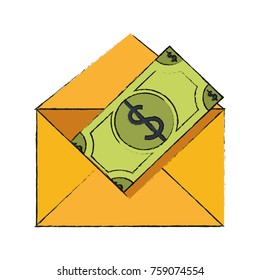 Money envelope symbol