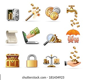 Money and Finance  | Professional icon set