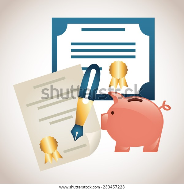 money graphic design , vector illustration