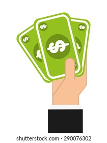 money icon design, vector illustration eps10 graphic