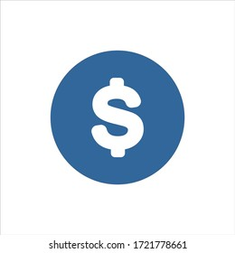 money icon vector. dollar symbol sign